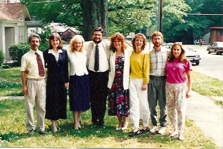 One of The Homeopathic College Classes, circa 1991