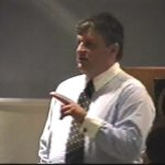 Lecturing at UNC - Chapel Hill Medical School 2001